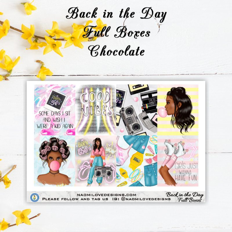 Back in the Day Full boxes chocolate